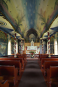 St. Benedict's Painted Church, Kona Coast, Island of Hawaii<br />