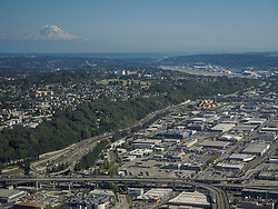 United States, Washington, Seattle, view from Columbia Tower