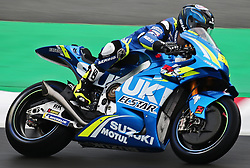 May 22, 2018 - Barcelona, Catalonia, Spain - Sylvain Guintoli (Suzuki) during the Moto GP test in the Barcelona Catalunya Circuit, on 22th May 2018 in Barcelona, Spain. (Credit Image: © Joan Valls/NurPhoto via ZUMA Press)