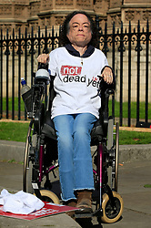File photo dated 11/09/15 of disabled Silent Witness star Liz Carr, who was left hospitalised after being stabbed in the head by a scissor-wielding attacker.