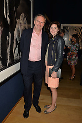 WILLIAM & LADY LAURA CASH at the Christie's Conservation Lectures in aid of Tusk held atChristie's, 8 King Street, London on 30th April 2014.