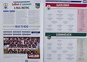 All Ireland Senior Hurling Championship - Final,.11.09.2005, 09.11.2005, 11th September 2005,.Minor Galway 3-12, Limerick 0-17,.Senior Cork 1-21, Galway 1-16,.11092005AISHCF,.Galway, 1 James Skehall, Cappataggle, 2 Alan Leech, Kinvara, 3 Paul Loughrane, Cappataggle, 4 Paul Callanan, Clarenbridge, 5 John Hughes, Liam Mellowes, 6 Ciaran O'Donovan, Athenry, 7 Keith Kilkenny, Kiltormer, 8 Andrew Keary, Killimor, 9 Kevin Coen, Ballindereen, 10 Sean Glynn, Athenry, 11 John Greene, Ardahan, 12 Alan Callanan, 13 Conor Kavanagh, Kinvara, 14 Joe Canning, Portumna, 15 Brian Murphy, Turloughmore, ..Limerick, 1 Ger Flynn, Croom, 2 Sean Brown, Newcastle West, 3 Liam Hurley, Kilmallock, 4 Tom Condon, Knockaderry, 5 John Kelly, Kilmallock, 6 David Moloney, Blackrock, 7 Gavin O'Mahoney, Kilmallock, 8 Daniel Moore, Monagea, 9 Seamus Hickey, Murroe Boher, 10 Don Hanley, Knockaderry, 11 James Ryan, Garryspillane, 12 Byran O'Sullivan, Kilmallock, 13 Michael Ryan, Doon, 14 Eoin Ryan, Kilmallock, 15 Diarmuid O'Sullivan, Knockaderry,