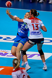 02-12-2019 JAP: Slovenia - Norway, Kumamoto<br /> Second day 24th IHF Women's Handball World Championship, Slovenia lost the second match against Norway with 20 - 36. Hana Vucko of Slovenia