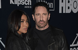 March 30, 2019 - Brooklyn, New York, USA - NEW YORK, NEW YORK - MARCH 29: Trent Reznor, Mariqueen Maandi attend the 2019 Rock & Roll Hall Of Fame Induction Ceremony at Barclays Center on March 29, 2019 in New York City. Photo: imageSPACE (Credit Image: © Imagespace via ZUMA Wire)