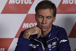 November 10, 2017 - Cheste, Spain - Lin Jarvis Yamaha Motor Racing Managing  Director at Valencia Motogp  (Credit Image: © Gaetano Piazzolla/Pacific Press via ZUMA Wire)