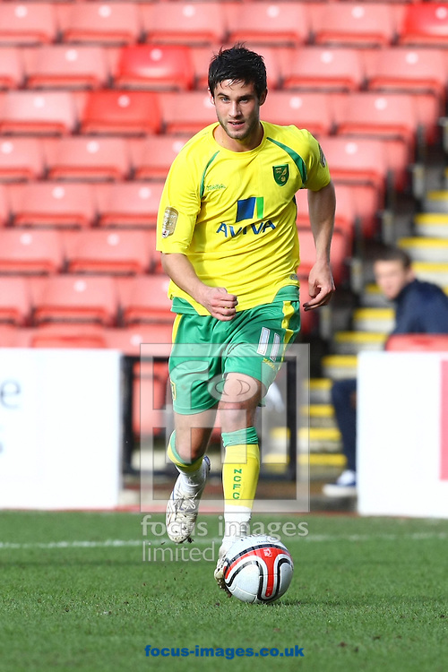 Barnsley - Saturday February 26th, 2011: Andrew Surman of Norwich in action during the Npower Championship match at The Oakwell Stadium, Barnsley. (Pic by Paul Chesterton/Focus Images)