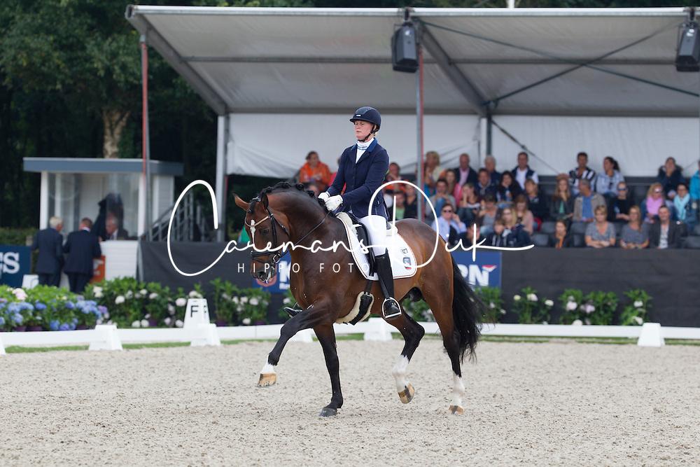Ruscher Claudia, GER, Baccardi<br /> World Championship Young Dressage Horses <br /> Ermelo 2016<br /> &copy; Hippo Foto - Leanjo De Koster<br /> 30/07/16
