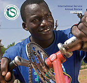 International Service, annual report cover. 2006