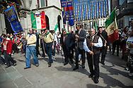 25 aprile, Festa della Liberazione. Milano, 2014. Partigiani.