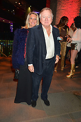 LORD & LADY BAMFORD at a Night of Disco in aid of Save The Children held at The Roundhouse, Chalk Farm Road, London on 5th March 2015.