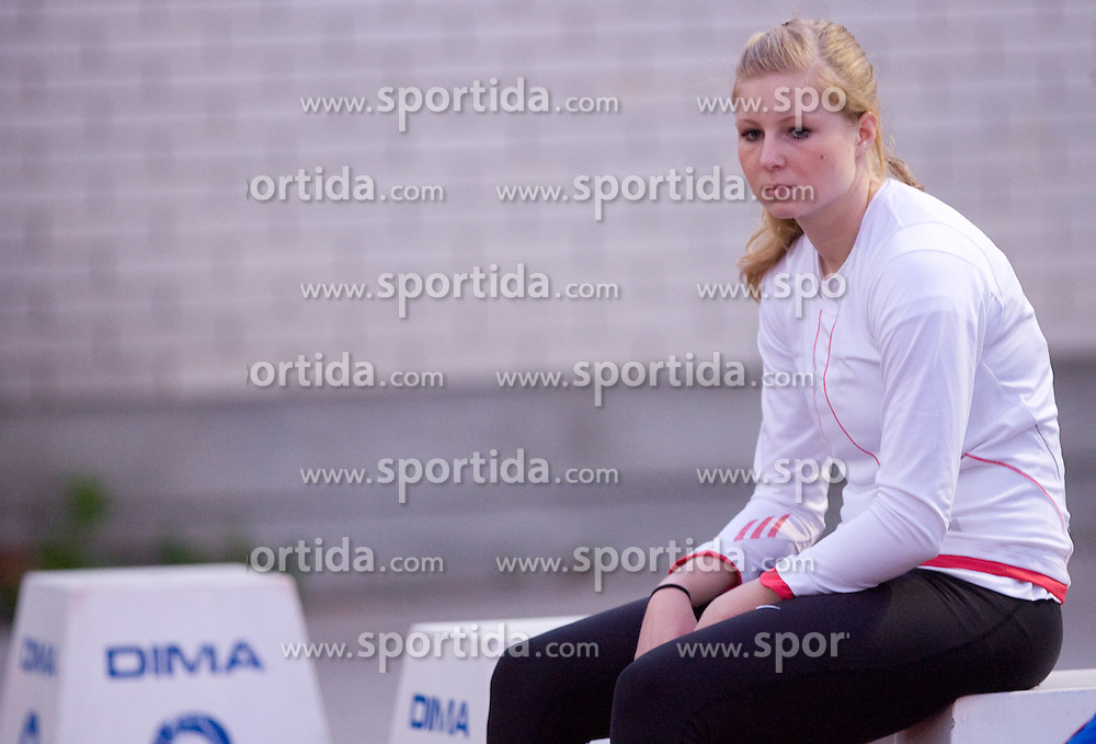 Sprinter  Maja Mihalinec at 4th Memorial of Matic Sustersic and Patrik Cvetan athletic meeting of Grand Prix Vzajemna, on June 1, 2009, in ZAK, Ljubljana, Slovenia. (Photo by Vid Ponikvar / Sportida)