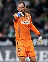 FUSSBALL   1. BUNDESLIGA   SAISON 2011/2012   21. SPIELTAG Werder Bremen - 1899 Hoffenheim                        11.02.2012 Tom Starke (TSG 1899 Hoffenheim)