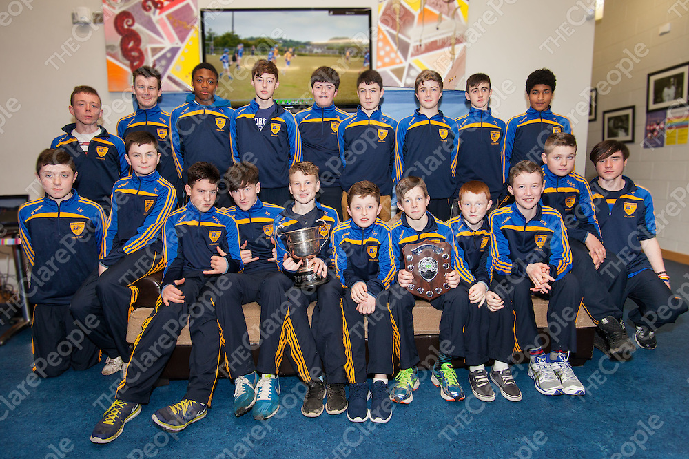 Feile and Shield medal Presentation for Banner U14 for 2014