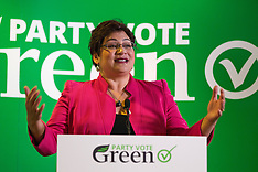 Auckland- Green Party Launch Election Campaign