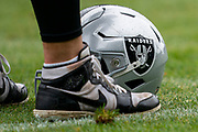 Oakland Raiders during the practice session for Oakland Raiders at the Grove Hotel, Chandlers Cross, United Kingdom on 4 October 2019.
