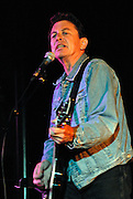 Joe Ely performing at the Texas State Book Festival at the Texas State Capitol in Austin Texas, November 3, 2007.