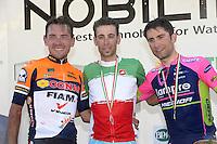 Reda Francesco / Victoire Vincenzo Nibali / Ulissi Diego - 27.06.2015 - Championnat d'Italie 2015 -Turin<br />Photo : Sirotti / Icon Sport