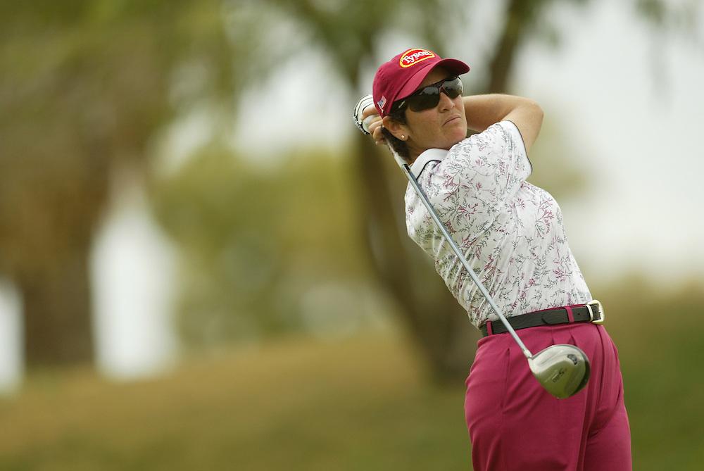 Danielle Ammaccapane..LPGA Welch's Fry's Round 2..Dell Urich GC at Randolph Park..Tucson, AZ..March 13, 2003..Photograph by Darren Carroll ..X67922