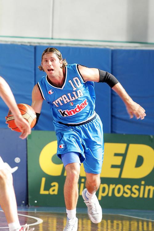 DESCRIZIONE : San Benedetto del Tronto Torneo Internazionale dell'Adriatico Italia-Francia Italy-France<br /> GIOCATORE : Pecile<br /> SQUADRA : Italy Italia<br /> EVENTO : San Benedetto del Tronto Torneo Internazionale dell'Adriatico Italia-Francia<br /> GARA : Italia Francia Italy France<br /> DATA : 02/07/2006 CATEGORIA : Palleggio<br /> SPORT : Pallacanestro <br /> AUTORE : Agenzia Ciamillo-Castoria/E.Castoria<br /> Galleria : FIP Nazionale Italiana<br /> Fotonotizia : San Benedetto del Tronto Torneo Internazionale dell'Adriatico<br /> Predefinita :