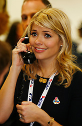 Annual ICAP Charity Day.<br /> Holly Willoughby attends the Annual ICAP Charity Day in the City, London, United Kingdom. Tuesday, 3rd December 2013. Picture by  i-Images