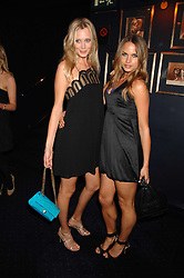 Left to right, LISA HENREKSON and NATHALIE BOMGREN at a party to celebrate the publication of the 2007 Tatler Little Black Book held at Tramp, 40 Jermyn Street, London on 7th November 2007.<br />