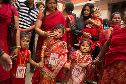 "Parents present at Kumari Puja said the function was the beginning of community life of their daughters. Despite being a Newari festival, girls from other castes also attended the ceremony. The word kumari literally means ""virgin"" in Nepali."