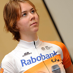 13-01-2016: Wielrennen: Ploegenpresentatie Rabo Liv Cyclingteam: Papendal: Arnhem: Ladies Cycling: Dames Wielrennen: Thalita de Jong