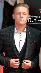 Edinburgh Film Festival, Sunday 1st July 2018<br /> <br /> SWIMMING WITH MEN (UK Premiere - Closing Night Gala)<br /> <br /> Pictured:  Thomas Turgoose <br /> <br /> Alex Todd   Edinburgh Elite media