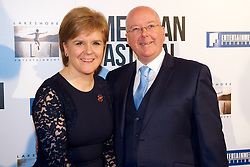 First Minister, Nicola Sturgeon and husband Peter Murrell attending the Edinburgh International Film Festival gala screening of American Pastoral, Directed and staring Ewan McGregor. Wednesday 2nd November 2016 (c) Brian Anderson | Edinburgh Elite media