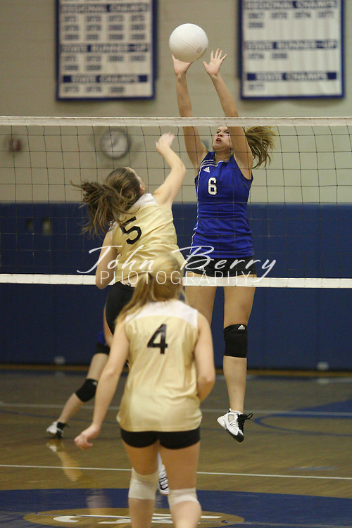 MCHS Varsity Volleyball.vs Manassas Park.District Quarter Finals.10/30/2007..