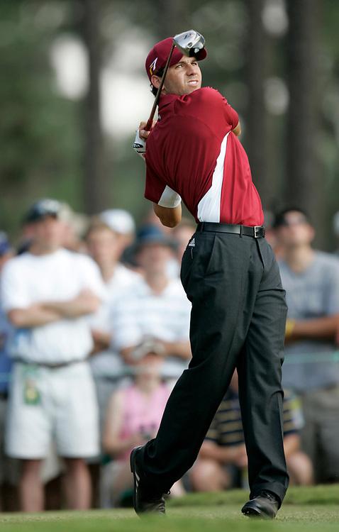 PINEHURST, NORTH CAROLINA - JUNE 18, 2005<br /> Sergio GARCIA during the 3rd Round of the 2005 U.S. Open Championship, held at Pinehurst No.2 in the Village of Pinehurst, North Carolina.