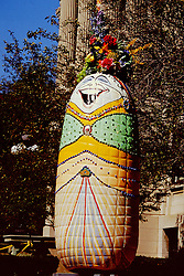 Bloomington Illinois Corn Art dubbed Corn on the Curb for the 150th sesquicentennial celebration in 2000.