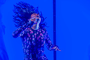 Lorde, a New Zealand singer, plays the Pyramid Stage - The 2017 Glastonbury Festival, Worthy Farm. Glastonbury, 23 June 2017