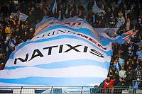 Illustration Supporters Racing Metro - 03.01.2015 - Racing Metro 92 / Bordeaux Begles - 15eme journee de Top 14 -<br />Photo : Benjamin Blanc / Icon Sport