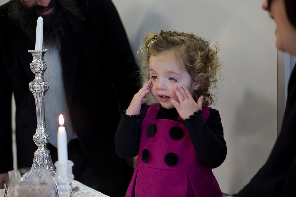 At Sydney's Yeshiva centre Mussia Slavin's third birthday and candle lighting at Our Big Kitchen
