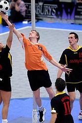 05-02-2006 KORFBAL: NEDERLAND - BELGIE: DRIEBERGEN<br /> Nederland wint met 21-12 van Belgie / Barry Schep<br /> ©2006-WWW.FOTOHOOGENDOORN.NL