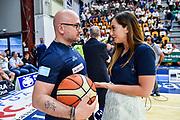 Matteo Boccolini, Giulia Cicchinè,<br /> Banco di Sardegna Dinamo Sassari - Umana Reyer Venezia<br /> LBA Serie A Postemobile 2018-2019 Playoff Finale Gara 4<br /> Sassari, 16/06/2019<br /> Foto L.Canu / Ciamillo-Castoria
