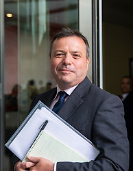 © Licensed to London News Pictures. 04/11/2018. London, UK. Co-founder of the Leave.EU campaign Arron Banks arrives at BBC Broadcasting House to appear on The Andrew Marr Show. Photo credit: Rob Pinney/LNP