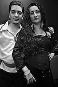 Roberto Markowski and Markiza Wege, Polish Galicjaki Roma living in Sweden