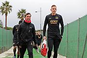 Nick van Aart, *Marco Bizot* of AZ Alkmaar,