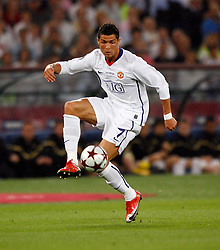 Manchester United's Cristiano Ronaldo in action..Champions League Final..Barcelona v Manchester United..27th May, 2009.(Credit Image: © David Klein/Sportimage/Cal Sport Media/ZUMAPRESS.com)