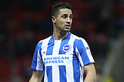 Brighton & Hove Albion central midfielder Beram Kayal (7) during the EFL Sky Bet Championship match between Rotherham United and Brighton and Hove Albion at the AESSEAL New York Stadium, Rotherham, England on 7 March 2017.