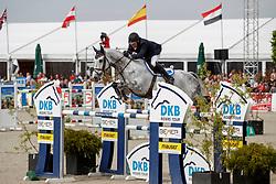 FUNNEL William (GBR), Billy Mccain<br /> Hagen - Horses and Dreams meets the Royal Kingdom of Jordan 2018<br /> Grosser Preis der DKB Qualifikation DKB-Riders Tour<br /> 30 April 2018<br /> www.sportfotos-lafrentz.de/Stefan Lafrentz