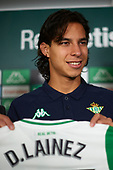 Unveil new signing Real Betis Balompie of Diego Lainez