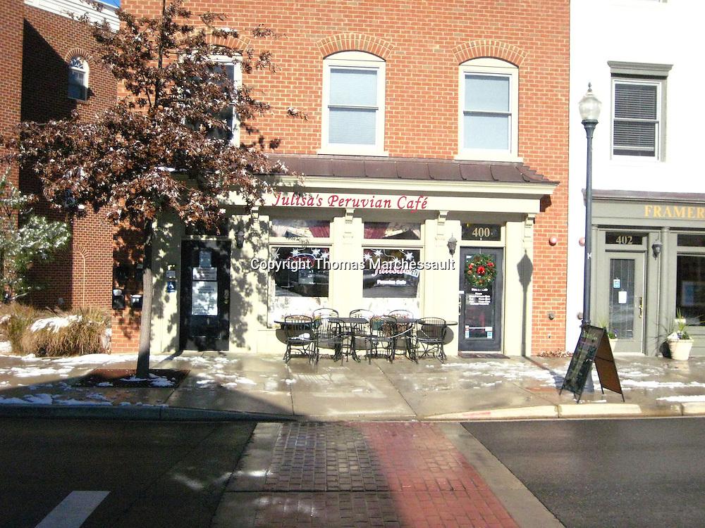Julisa's Peruvian Cafe, Main Street, Kentlands, Gaithersburg, Maryland