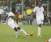 Photo: Steve Bond/Richard Lane Photography.<br />Ghana v Guinea. Africa Cup of Nations. 20/01/2008. Sulley Muntari (L) score the late winner