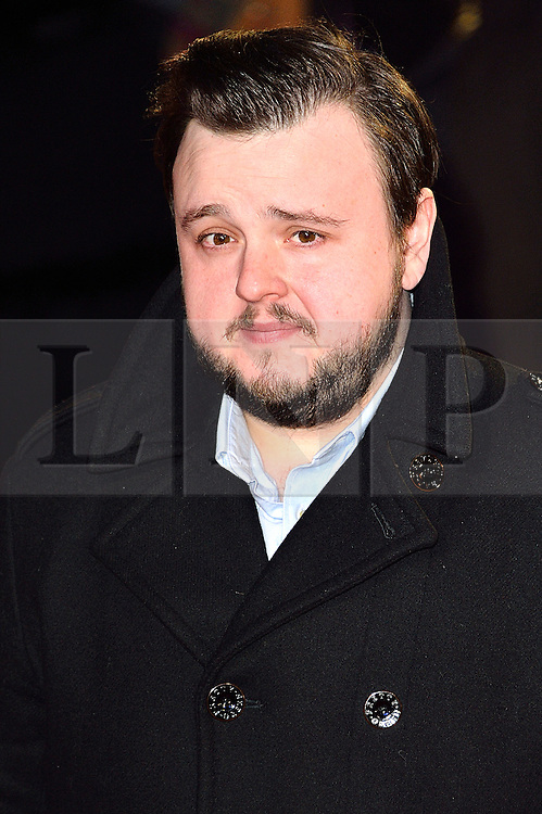 © Licensed to London News Pictures. 22/02/2016. JOHN BRADEY attends the GRIMSBY Film premiere. The film centres around a black-ops spy whose brother is a football hooligan.  London, UK. Photo credit: Ray Tang/LNP