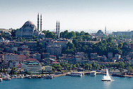 View of istanbul and the Suleymaniye mosque