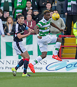 Celtic&rsquo;s Moussa Dembele and Dundee&rsquo;s Darren O&rsquo;Dea - Dundee v Celtic in the Ladbrokes Scottish Premiership at Dens Park, Dundee. Photo: David Young<br /> <br />  - &copy; David Young - www.davidyoungphoto.co.uk - email: davidyoungphoto@gmail.com