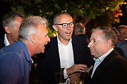 August 15, 2019:  Monterey Car Week, Stefano Domenicali, CEO of Lamborghini, Jean Todt, President of the FIA